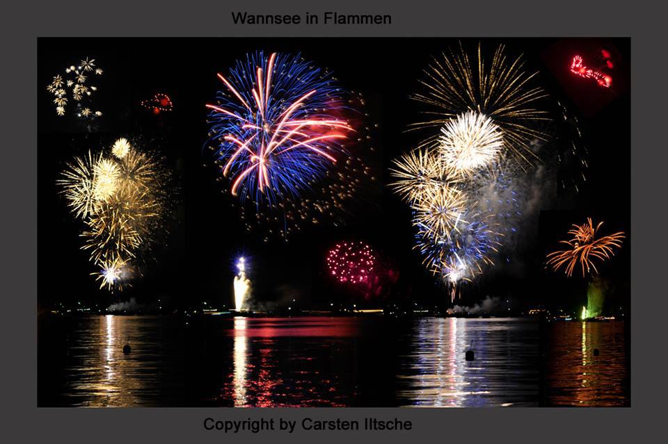 wannsee in flammen